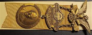 Civil War GAR National Encampment Badge 1941