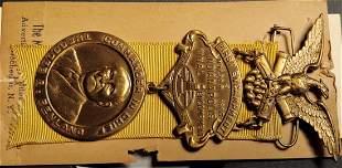 Civil War GAR National Encampment Badge 1949