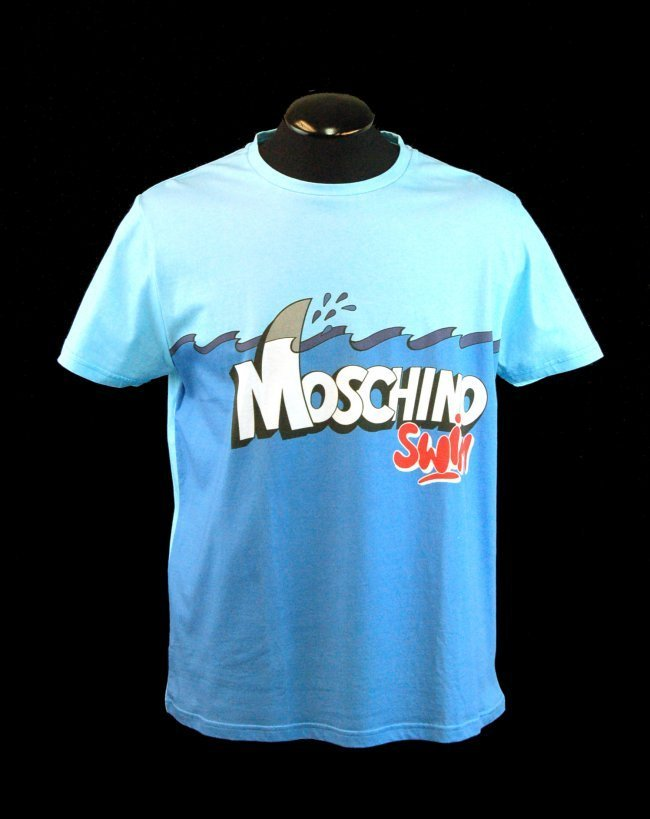 MOSCHINO Men's Designer Graphics T-Shirt-Sx XL-$275.00