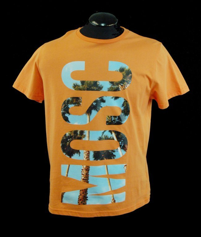 MOSCHINO Men's Designer Graphics T-Shirt-Sz XL-$295.00