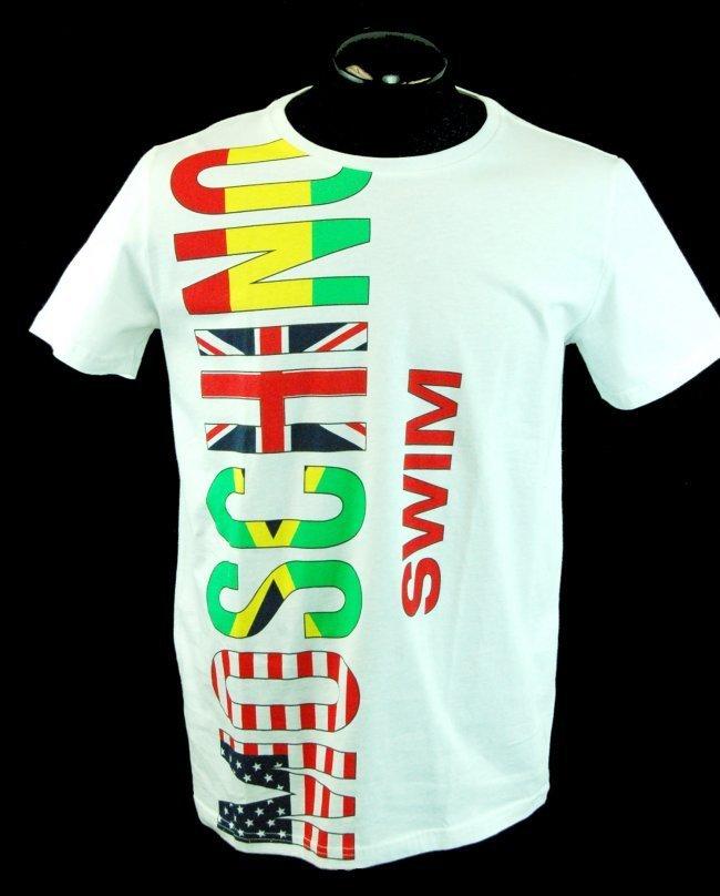 MOSCHINO Men's Designer Graphics T-Shirt-Sz XL-$275.00