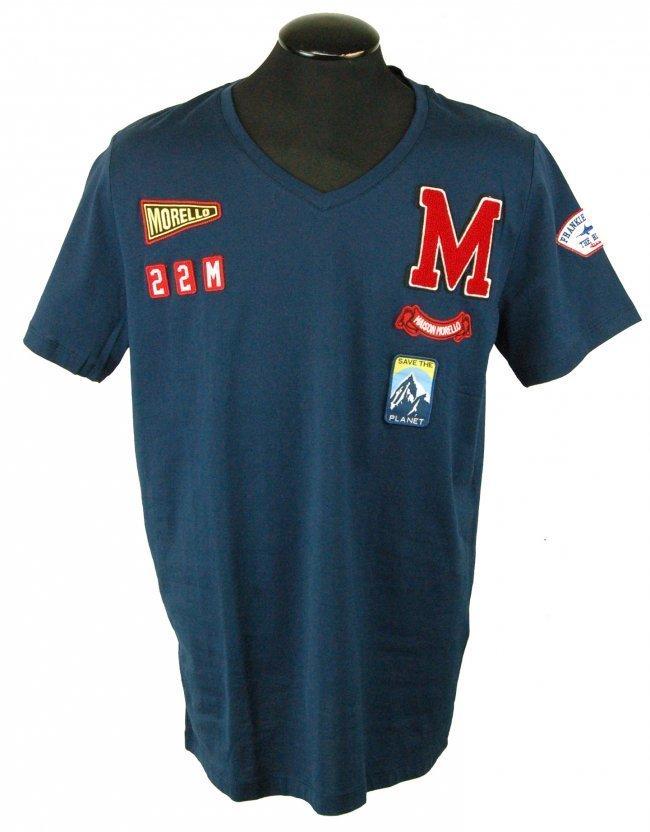 FRANKIE MORELLO Men's Designer T Shirt-XXL-$350.00