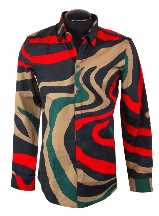 ICEBERG-Men's Designer Shirt-M-$600.00