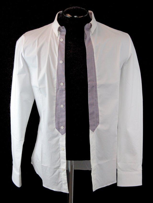 FRANKIE MORELLO Men's Designer Shirt-S-$350.00