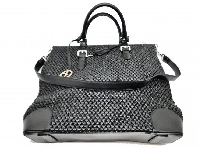 GIORGIO ARMANI LEATHER HANDBAG-$1595.00
