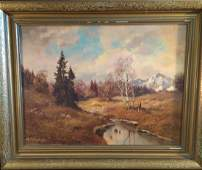 Rudolph Rodel Oil on Canvas