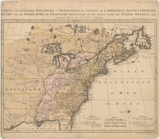 MAP - Eastern US & Canada. Ottens - Mar 16, 2019   Old World ...