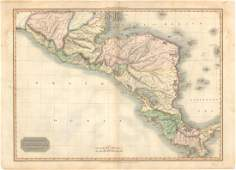 MAP - Central America. Pinkerton