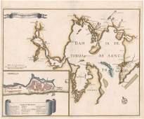 MAP - Todos os Santos Bay, Brazil. Montanus