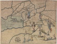 MAP - Eastern England. Hole