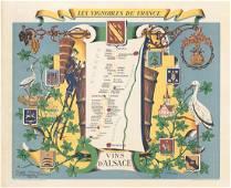 MAP - Alsace, France. Hetreau