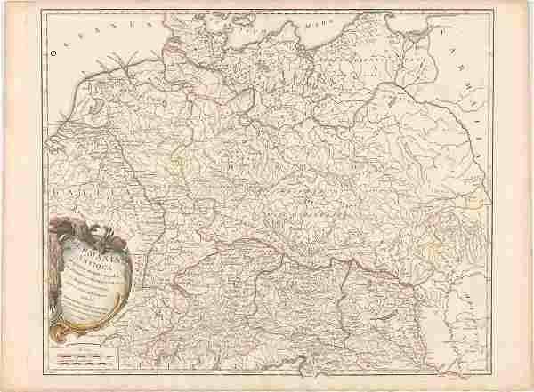 MAP - Eastern Europe. Robert de Vaugondy