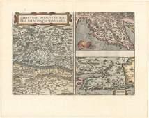 MAP - Southeastern Europe. Ortelius