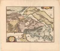 MAP - Southeastern Greece. Jansson
