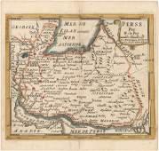 MAP - Persia - Iran. De Fer