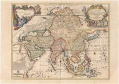 MAP - Asia. De Fer
