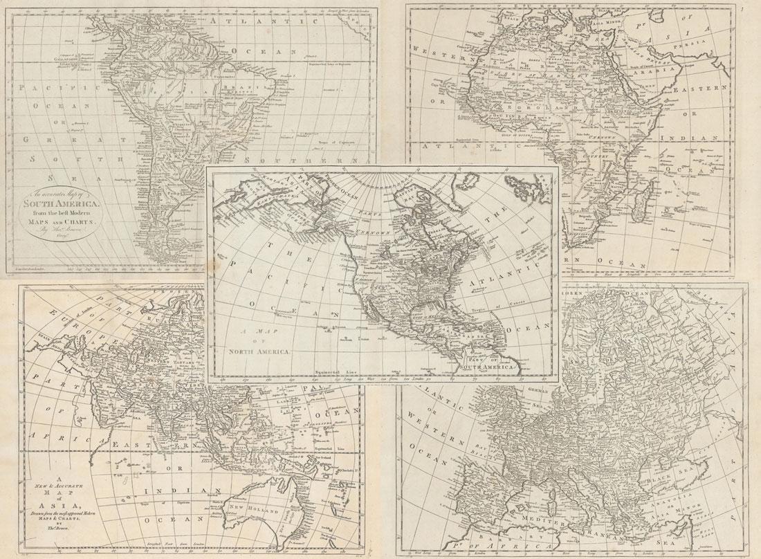 MAPS - Continents. Bowen