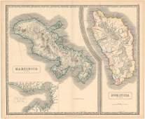 MAP - Martinique & Dominica. Philip