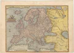 MAP - Europe. Ortelius