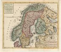 MAP - Scandinavia. Tirion