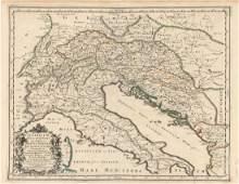 MAP - Southeastern Europe. Sanson