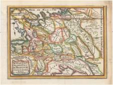 MAP  Russia in Europe De Fer