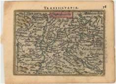 MAP  Romania  Hungary OrteliusGalle