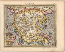 MAP  Northern Greece Mercator