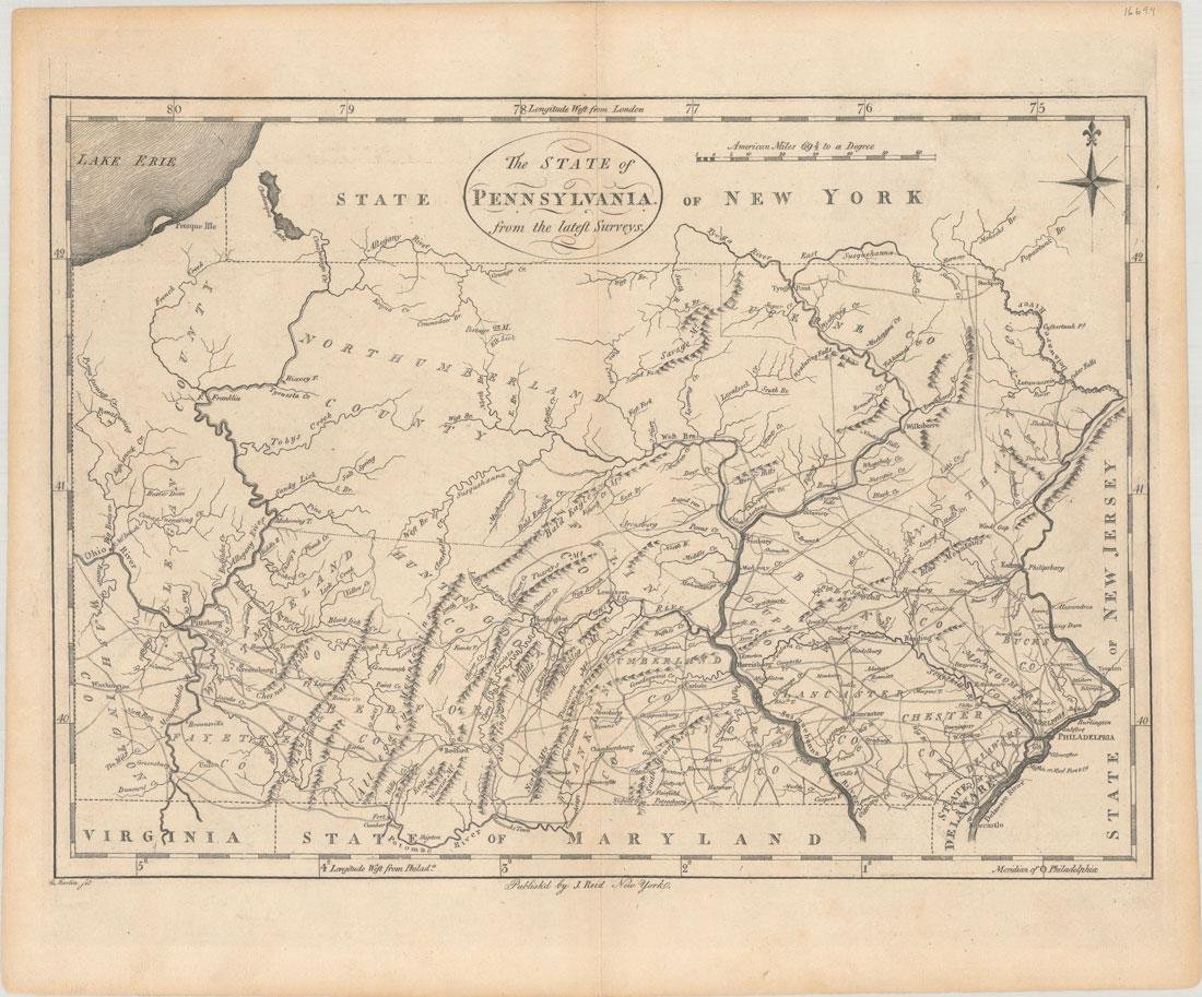 MAP, Pennsylvania, Reid