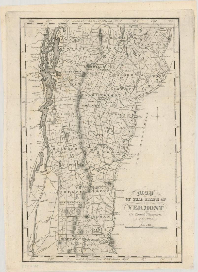 MAP, Vermont, Thompson