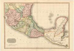 MAP, Mexico & Central America, Pinkerton