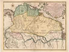 MAP, Northern South America, De Fer