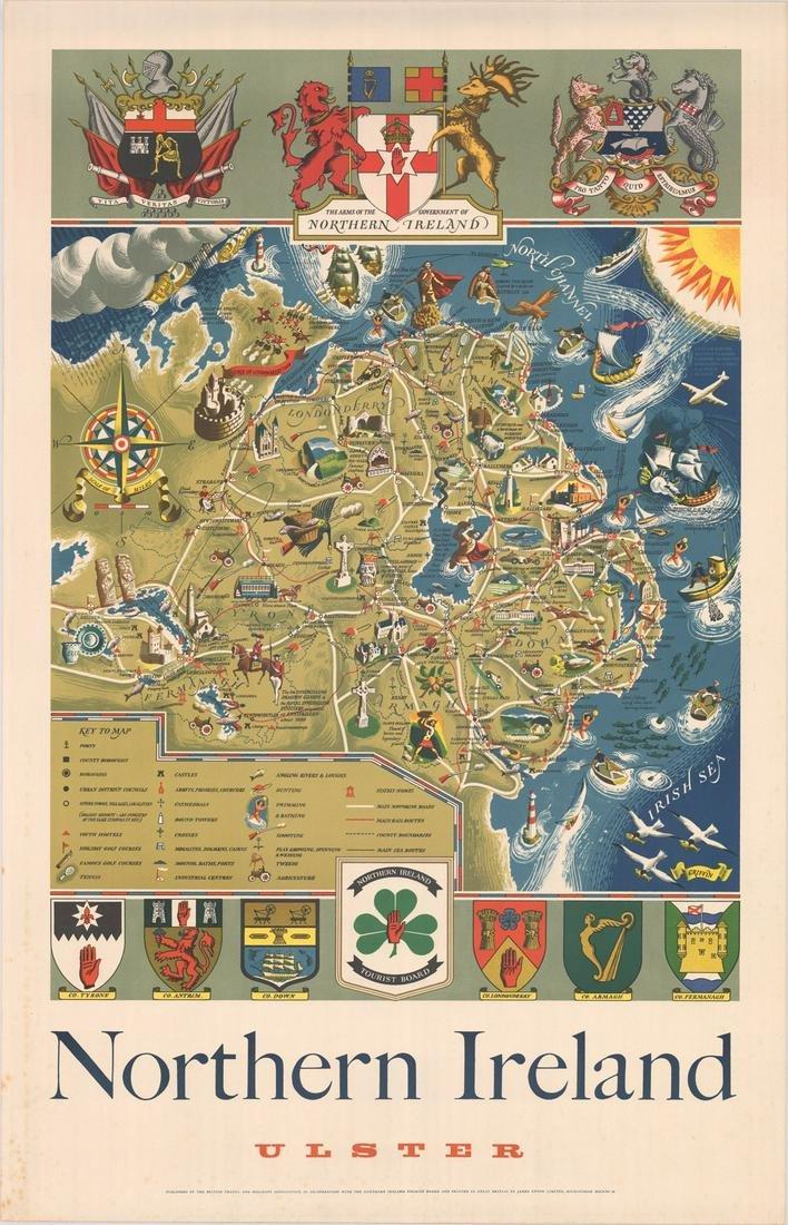 MAP, Ulster, Ireland, Upton