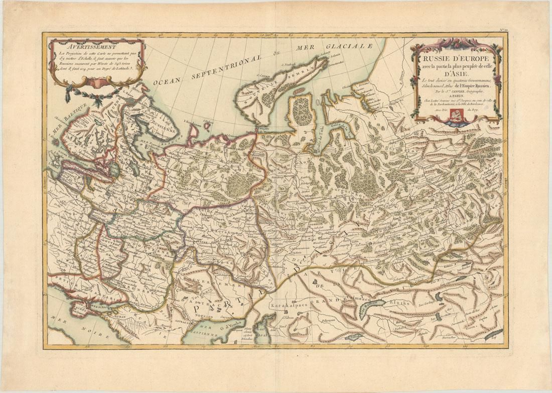 MAP, Russia in Europe, Janvier
