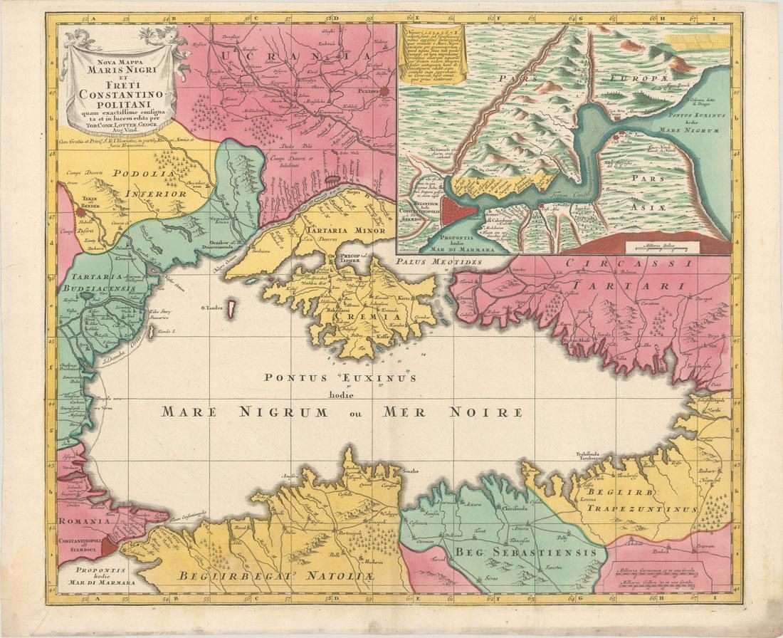 MAP, Black Sea, Seutter