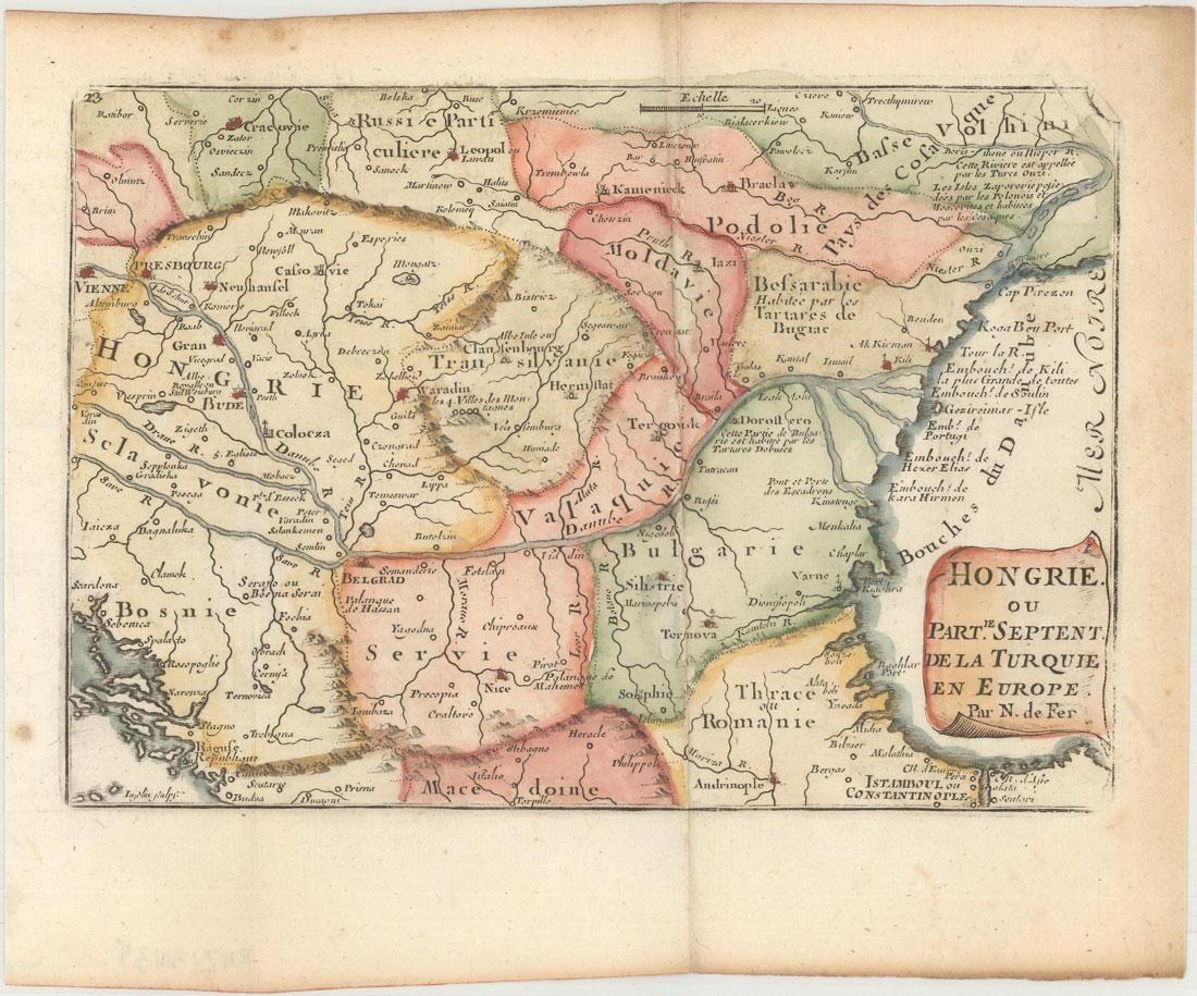 MAP, Southeastern Europe, De Fer