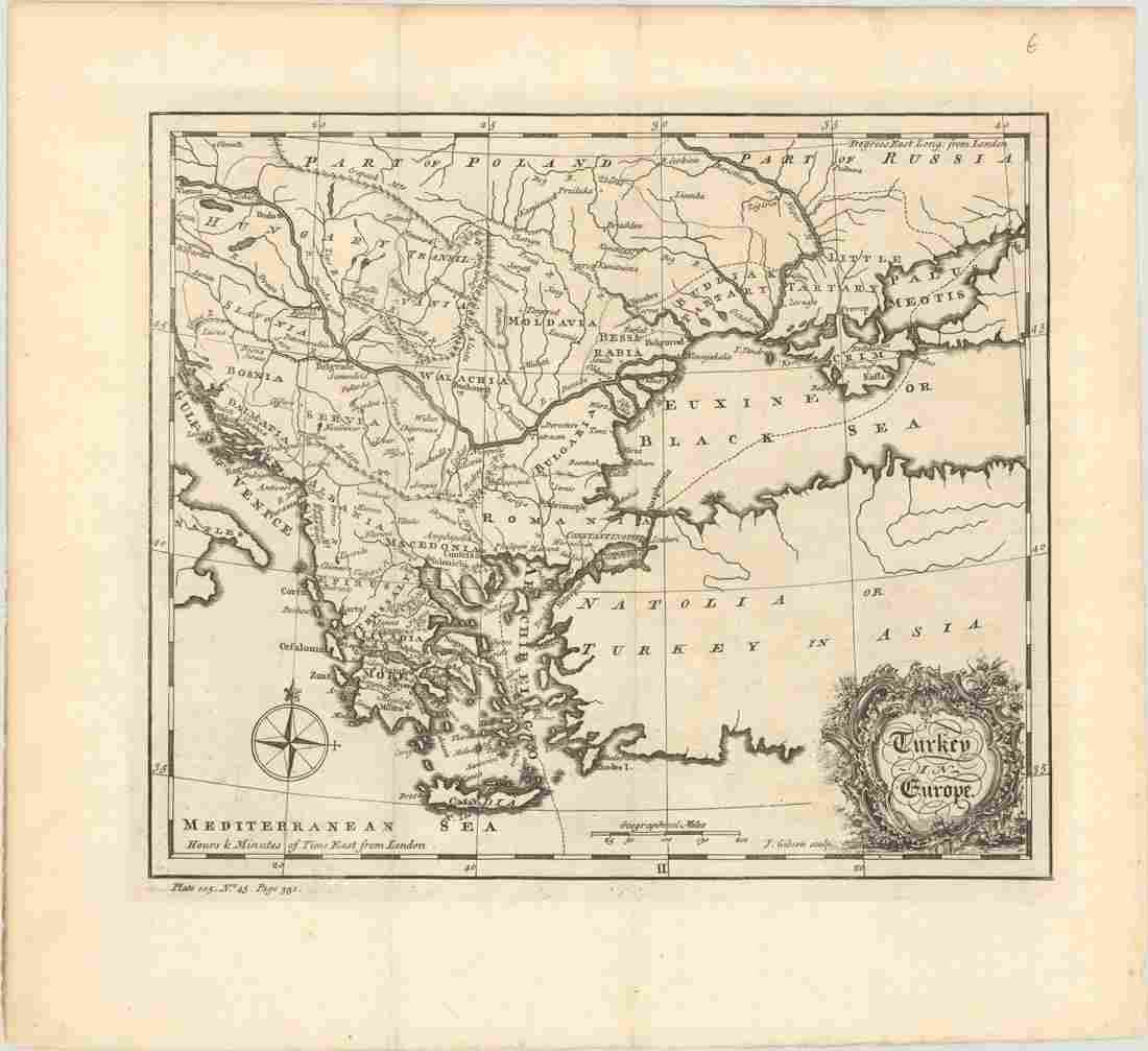 MAP, Southeastern Europe, Salmon