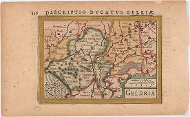 MAP Southeastern Netherlands HondiusBertius