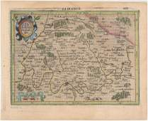 MAP Northern France Paris Mercator