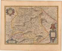 MAP Southeastern Spain Mercator