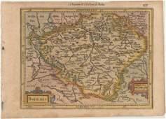 MAP Czech Republic Mercator