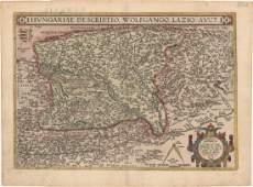 MAP Hungary Ortelius