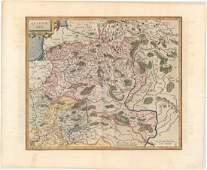 MAP Eastern Europe Lithuania Mercator