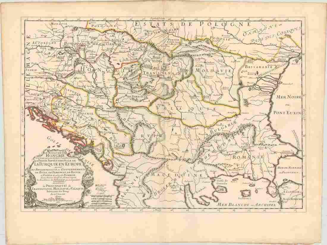 MAP, Balkans, Hungary, Sanson
