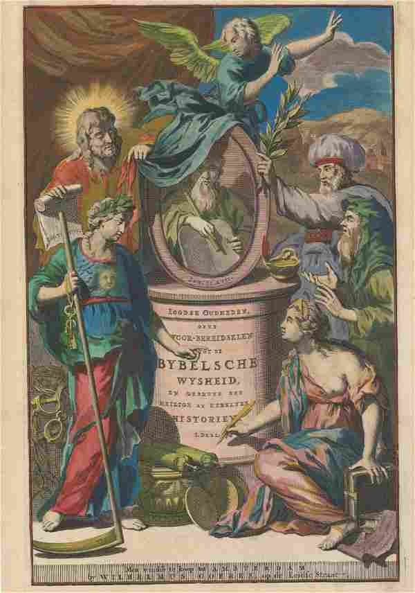 ENGRAVING, Title Pages, Goeree