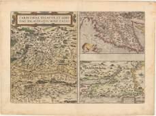 MAP, Southeastern Europe, Ortelius