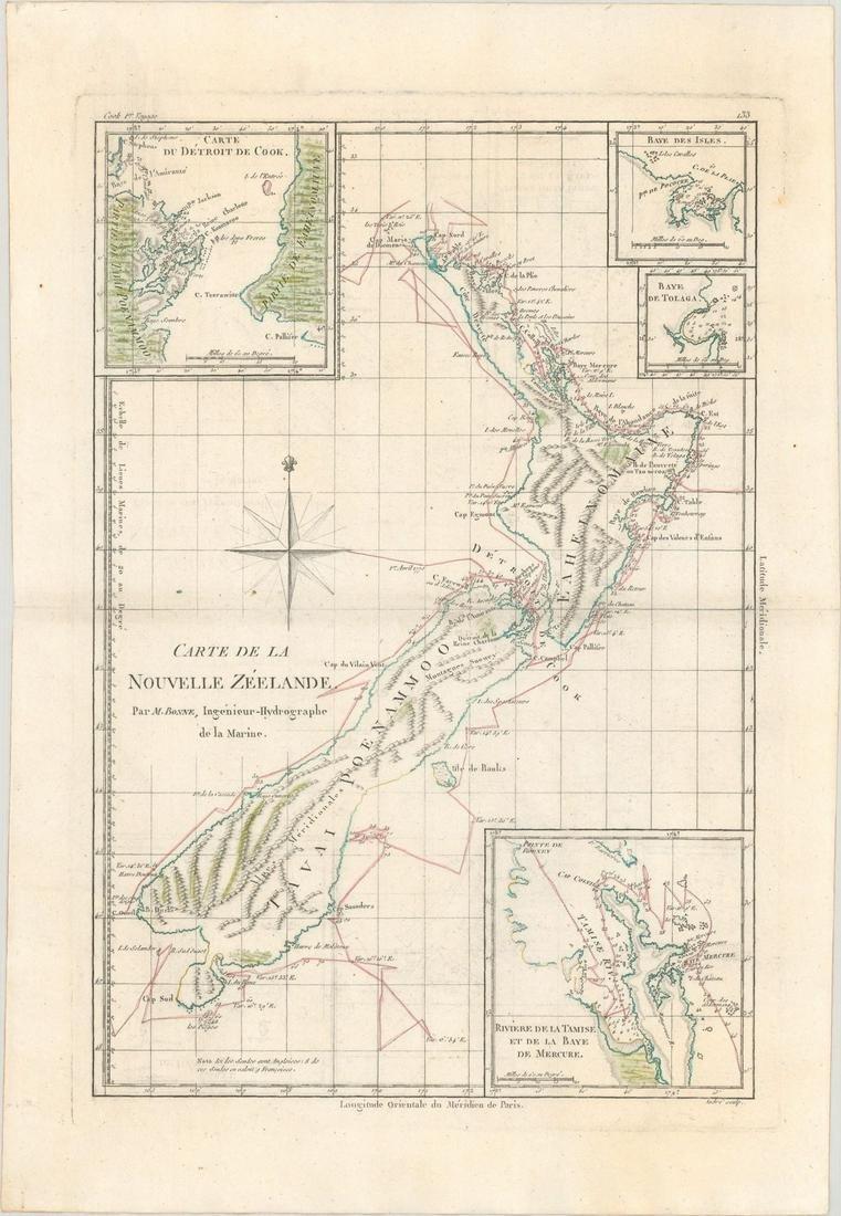 MAP, New Zealand, Bonne