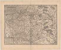 MAP, Eastern Europe, Ortelius