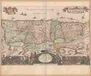 MAP, Holy Land, Visscher