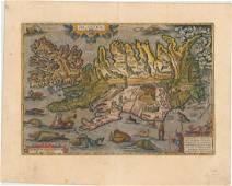 MAP, Iceland, Ortelius